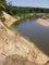 meandry řeky Moravy nedaleko Hodonína