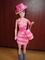 Háčkovaný model na Barbie