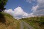 krajina na žďársku (a děsně velká, bílá oblaka...)