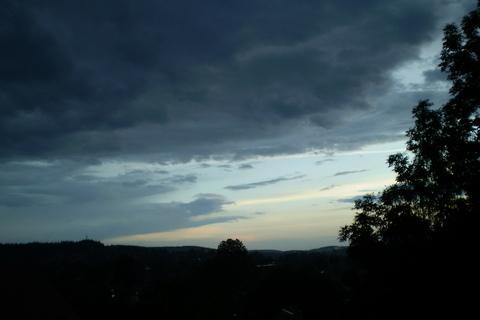 FOTKA - Nebe po včerejší bouřce 1