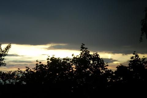 FOTKA - Nebe včera po bouři 2