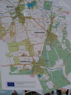 FOTKA - mapa Ratíškovic a okolí