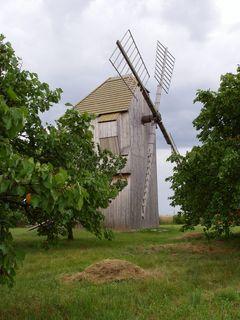 FOTKA - Větrný mlýn St.Poddvorov, Hodonínsko
