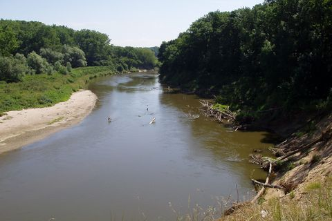 FOTKA - meandry řeky Moravy, Hodonínsko