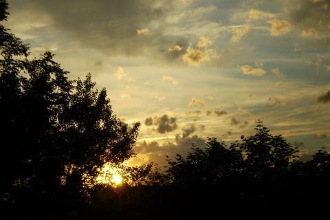 FOTKA - Dnešní západ slunce 1