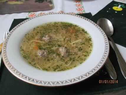FOTKA - Sváteční polévka