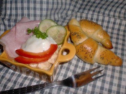 FOTKA - Obložené vejce s banketkami