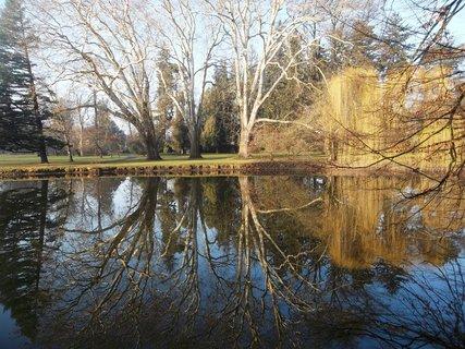 FOTKA - Zrcadlen� v Podz�m. zahrad� v Krom���i