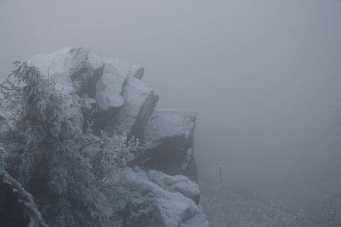 FOTKA - zmrzlá skála