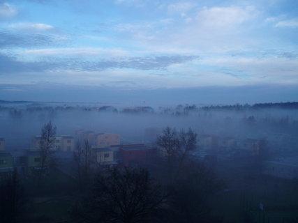 FOTKA - Velká mlha Milovice