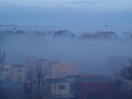 FOTKA - Velká mlha Milovice 1