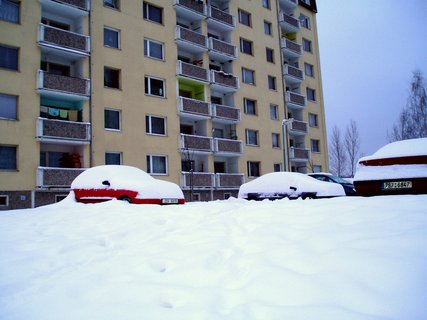 FOTKA - V loni pod sněhem
