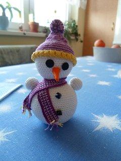 FOTKA - sněhuláček 1