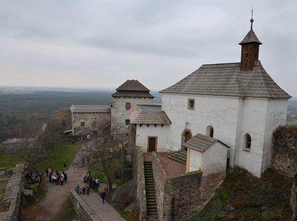 FOTKA - Novoroční výhled z hradu