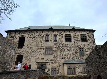 FOTKA - Novoroční výstup na hrad
