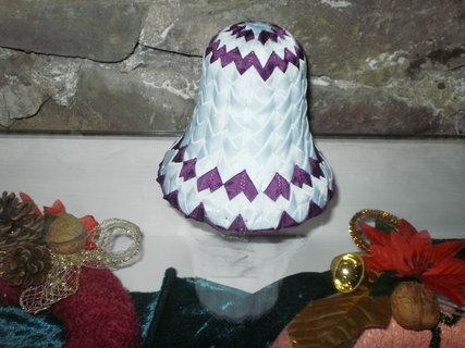 FOTKA - zdobený zvoneček z mašlí