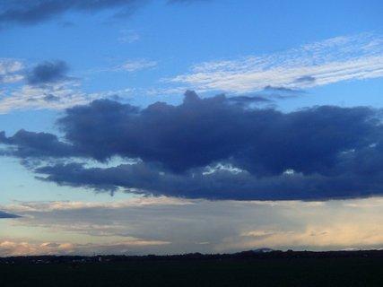 FOTKA - modré mraky