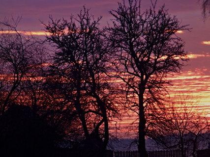FOTKA - Jak dnes ráno vstávalo Sluníčko