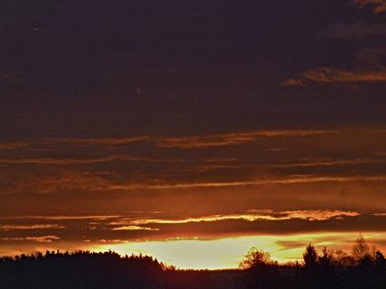 FOTKA - Jak dnes ráno vstávalo Sluníčko 4