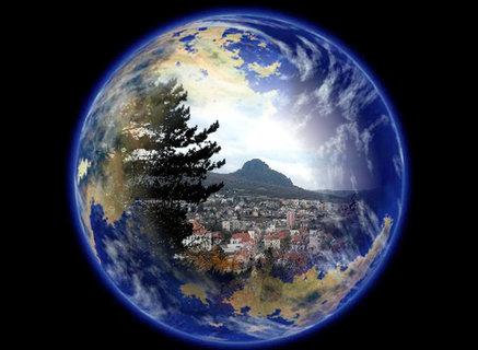 FOTKA - Bílina-střed Zeměkoule