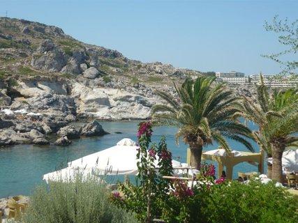 FOTKA - Výhled z Kalithea Spa na moře