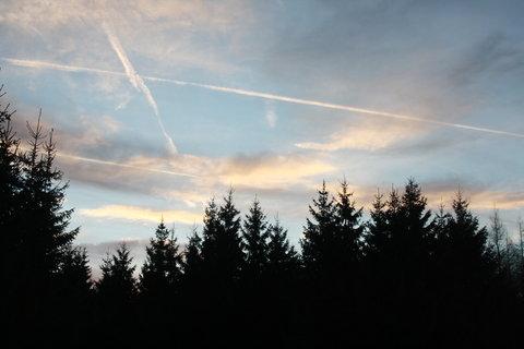 FOTKA - počmáraná obloha