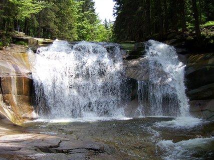 FOTKA - Krkonoše - Bílé Labe vodopád