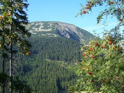 FOTKA - Studniční hora v pozadí