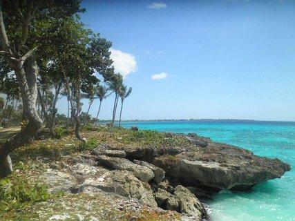 FOTKA - Dominikánská  barva moře
