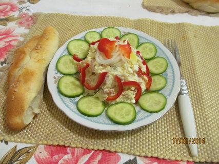 FOTKA - Vlašský salát z kyselého zelí - pro mně