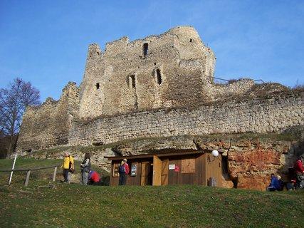 FOTKA - zřícenina hradu Michalovice u Mladé Boleslavi