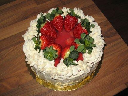 FOTKA - Ovocný dort k narozeninám
