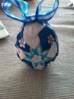 FOTKA - modré vajíčko
