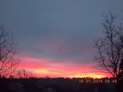 FOTKA - krásný ranní pohled na nebe