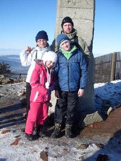 FOTKA - Na vrcholu Lysé Hory