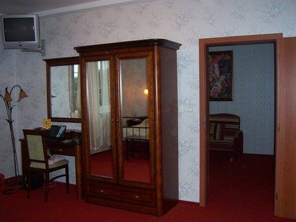 FOTKA - Babylon - prezidentské apartmá - ložnice -vybavení