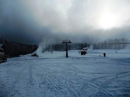 FOTKA - skiareál Ramzová,zasněžují
