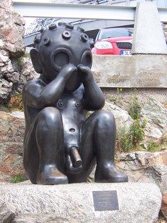 FOTKA - socha na Ještědu