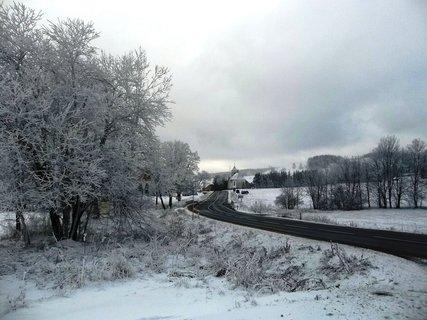 FOTKA - Jeseníky - Ramzová, cesta směrem k Ostružné