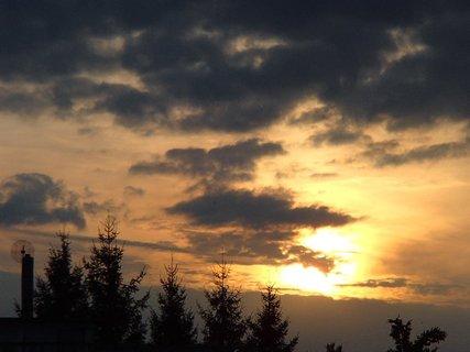 FOTKA - slnko zapadá