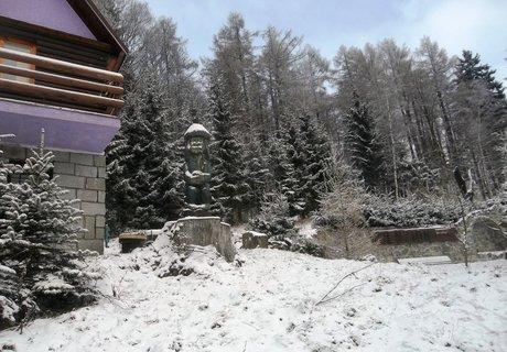 FOTKA - penzion Ostružník v Ostružné..zahrada