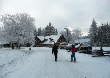 FOTKA - jde se lyžovat