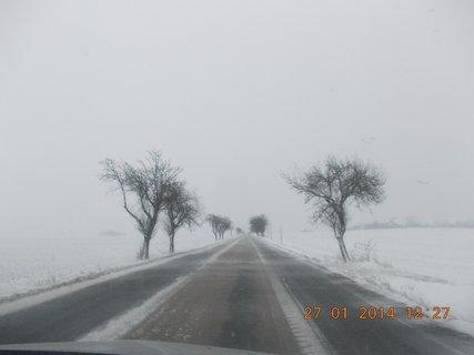 FOTKA - rozježděná silnice