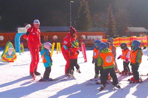 FOTKA - lyžařská školička -Beskydy Bílá