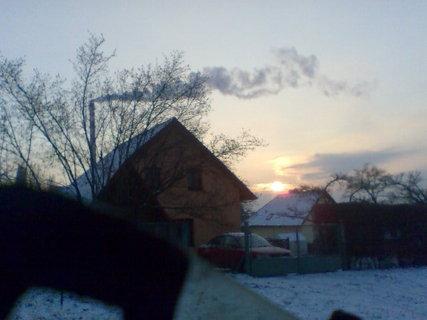FOTKA - Lednový východ slunce