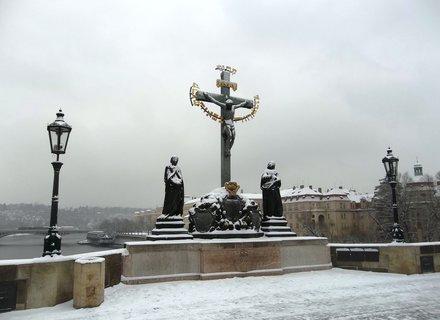 FOTKA - Na Karlově mostě..socha