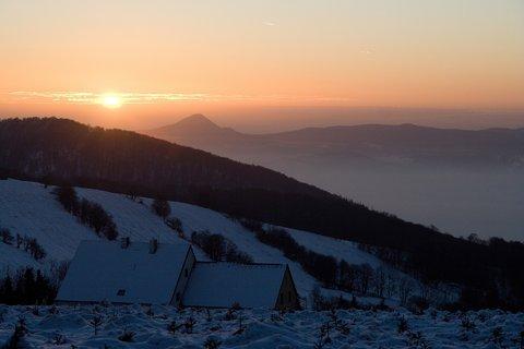 FOTKA - Svítání na Dlouhé Louce.