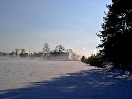 FOTKA - Slunce, stín a mlha