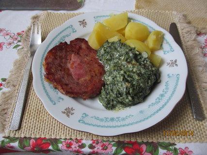 FOTKA - Špenátek, bránice a brambory