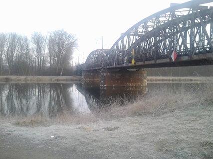 FOTKA - dnešní ráno u řeky